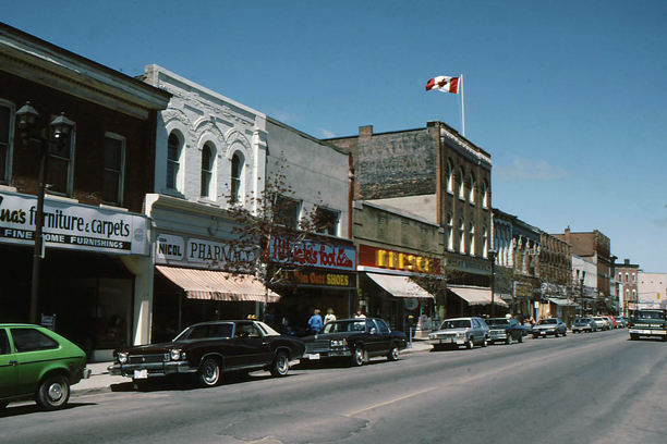 Owen Sound (ON) Canada  city photos : Owen Sound, Ontario, 1986.
